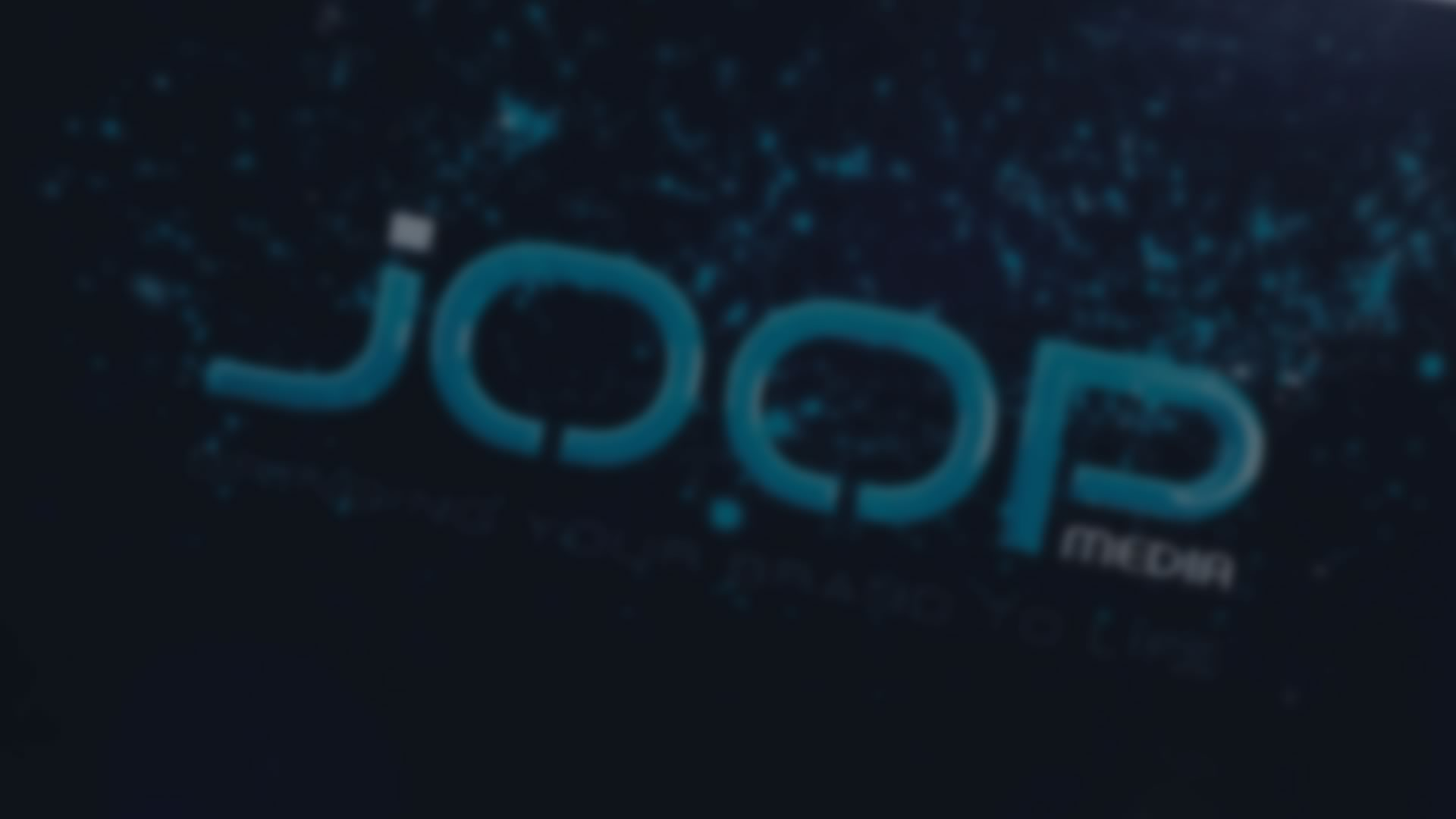Joop Media Logo Intro Animation – v2012